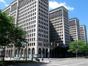 This Albert Kahn Building  is the former home of General Motors